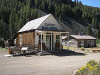 Ghost Town Custer Idaho saloon gift shop